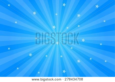 Sun Rays Vector Illustration. Rays Background. Sun Ray Theme Abstract Wallpaper. Design Elements In