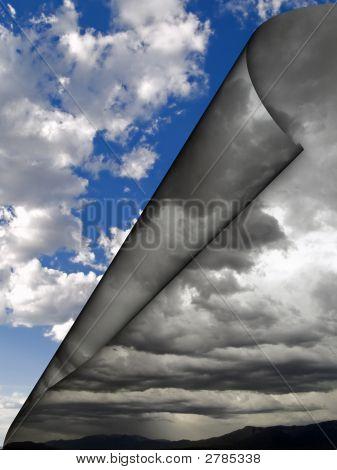 Dark Clouds Rolling Away