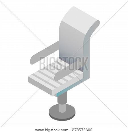 Boss Armchair Icon. Isometric Of Boss Armchair Icon For Web Design Isolated On White Background