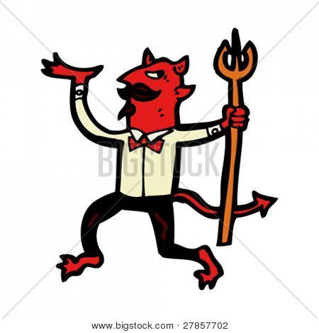 dancing devil cartoon