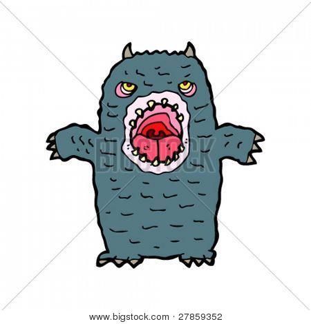 horrid monster cartoon