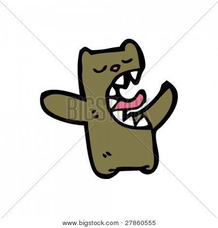 hungry little bear cartoon