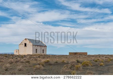 Old Ruins In The Tankwa Karoo In The Northern Cape Province