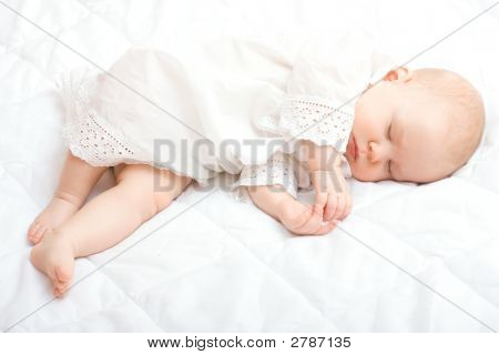 Cute Little Baby Sleeping