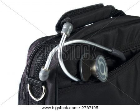 Stethoscope And Bag