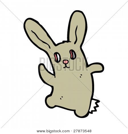 dancing zombie rabbit cartoon