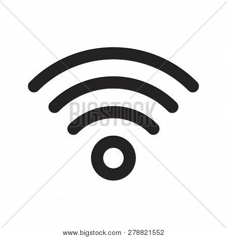 Wifi Vector Icon On White Background. Wifi Icon In Modern Design Style. Wifi Vector Icon Popular And