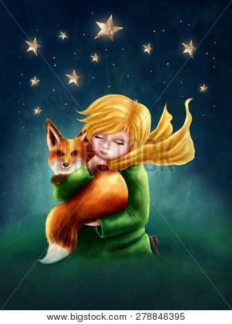 The Little Boy and the Fox