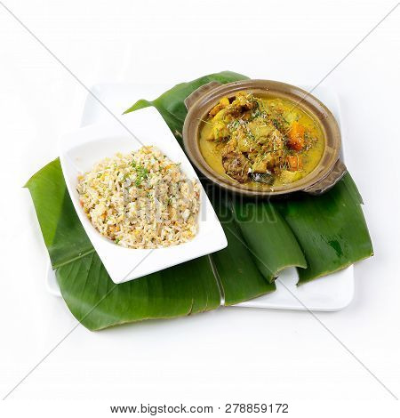 Thai Curry With Fried Rice, Authentic Thai Fried Rice, Thai Cuisine