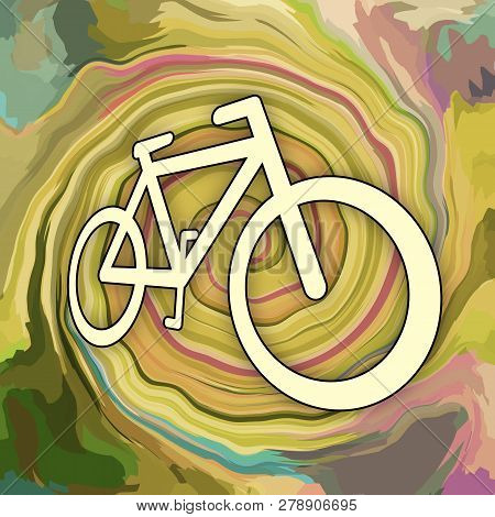 Bicycle Extreme Sport Dirty Speed Race Background