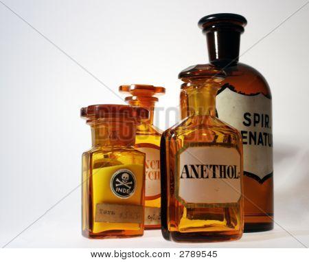 Ancient Pharmaceutic Phials