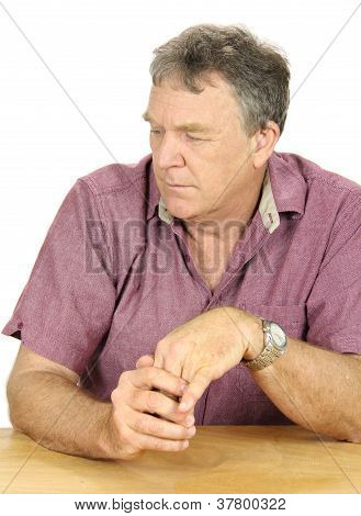 Dejected Man
