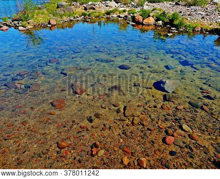 Clarity Is A Virtue - A Small Shoreline Section Of Three Creek Lake By The Dam - South Of Sisters, O