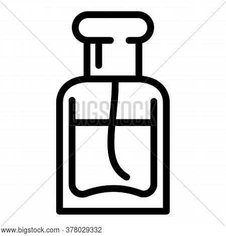 New Fashion Perfume Icon. Outline New Fashion Perfume Vector Icon For Web Design Isolated On White B