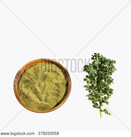 Brassica Oleracea Var. - Kale Leaves And Powder