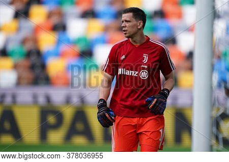 Udine (italy) - 23th July 2020 -  Wojciech Szczesny  Of Juventus Fc In Action During The Serie A Mat