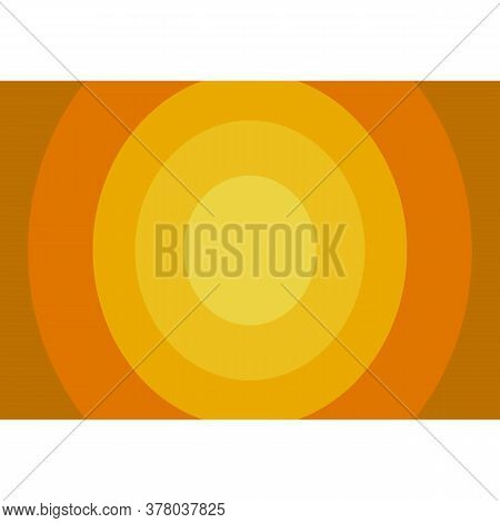 Background. Brown Circle Background Modern Texture Background, Elegant Color Gradation Or Website, A