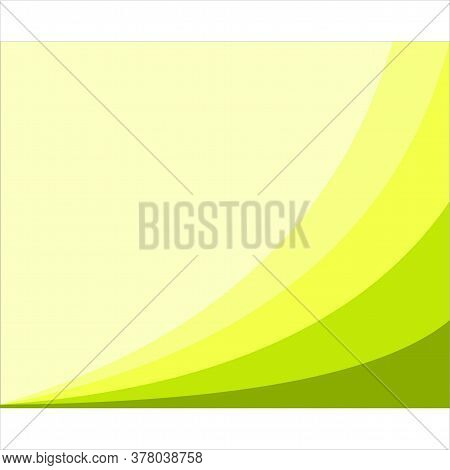 Background. Yellow Green Background Modern Texture Background, Elegant Color Gradation Or Website, A
