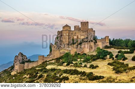 Loarre Castle Romanesque Defensive Fortification Medieval Romanic Huesca Aragon Spain