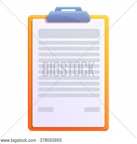 Storage Documents To Do List Icon. Cartoon Of Storage Documents To Do List Vector Icon For Web Desig