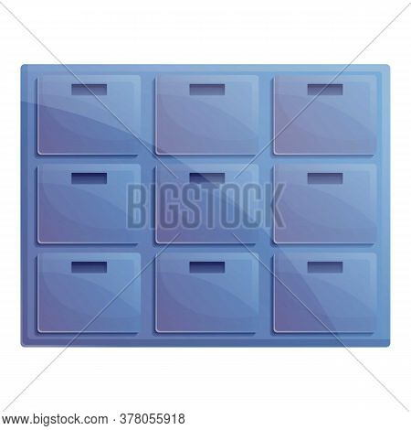Storage Documents Archive Icon. Cartoon Of Storage Documents Archive Vector Icon For Web Design Isol