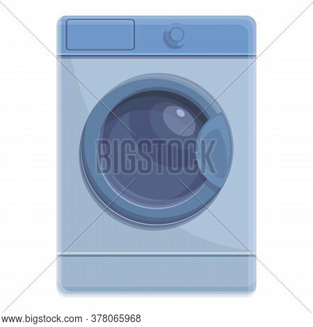 Laundry Machine Icon. Cartoon Of Laundry Machine Vector Icon For Web Design Isolated On White Backgr