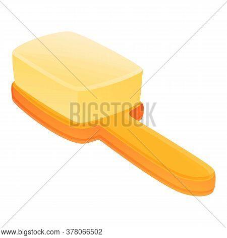 Brush Bath Toy Icon. Cartoon Of Brush Bath Toy Vector Icon For Web Design Isolated On White Backgrou