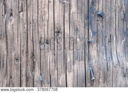 Wood Table Texture. Timber Plank Surface Wall For Vintage Grunge Wallpaper. Dark Grain Panel Board T