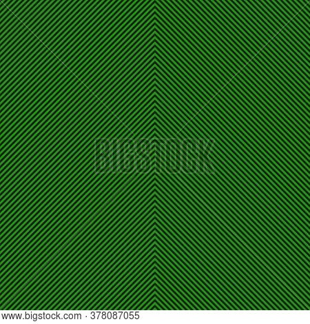 Green Chevron Diagonal Stripes Seamless Pattern Background