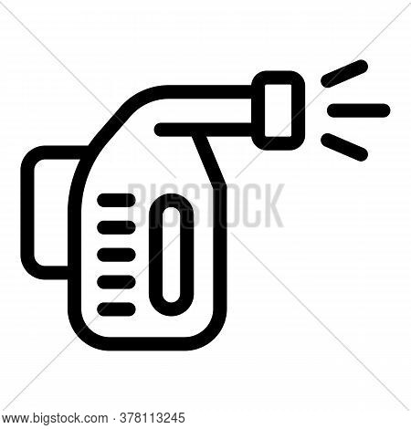 Steam Cleaner Icon. Outline Steam Cleaner Vector Icon For Web Design Isolated On White Background