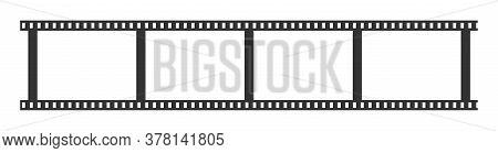 Filmstrip Mockup Icon Isolated. Vector Illustration Eps 10