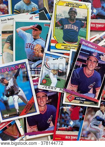 Cleveland Indians Baseball Cards