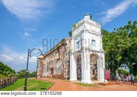 St. Pauls Church In Malacca City, Malaysia