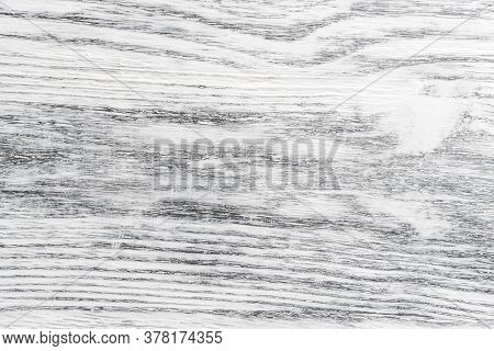 Wooden Painted White Background With Gray Stripes