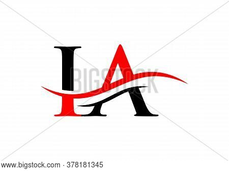 Letter Ia Logo Vector Gold Template. Ia Letter Linked Logo For Business And Company Identity.