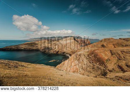 Beautiful view of Madeira Island, Ponta de São Lourenço  - Portugal