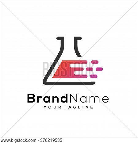 Tech Lab Logo Template Design Vector, Lab Icon, Lab Symbol