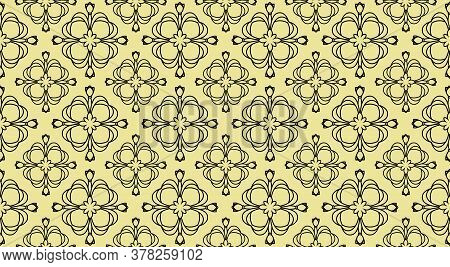 Vector Ornament Decor. Baroque Background Textures.victorian Fabric Tilevector Ornament Decor. Baroq
