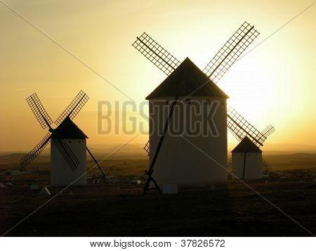 Windmühlen Spanien