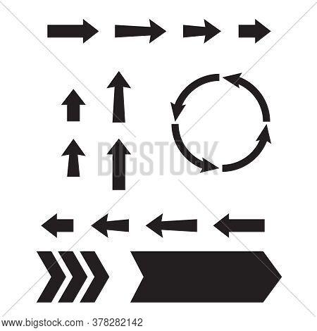 Arrow Web Icons. Next Page Navigation Buttons. Interface Arrow And Circular