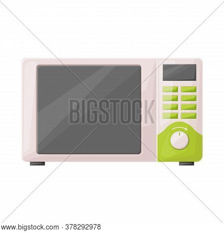Vector Design Of Microwave And Oven Icon. Web Element Of Microwave And Stove Stock Symbol For Web.