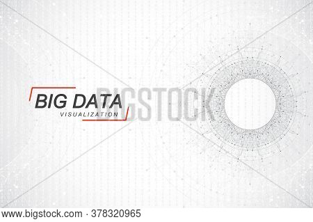 Big Data Visualization. Big Data Machine Learning Algorithms. Data Array Visualization. Visual Infor