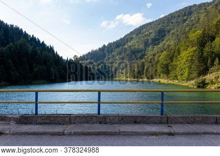 Zaovine Lake Is Located On The Southern Slopes Of The Tara Mountain. The Lake, With Its Five Bays, H