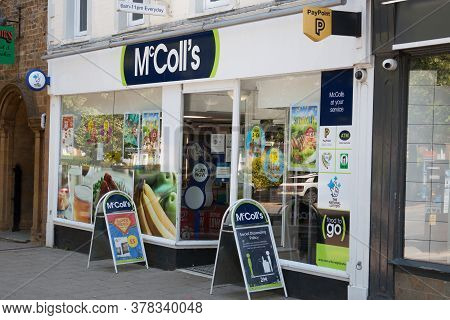 Mccoll's Newsagents And Convenience Store In Banbury In Oxfordshire In The Uk Taken On The 26th June
