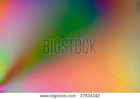 Double polarised background shot in close up poster