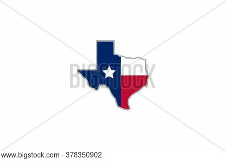 Texas. Texas vector . Texas logo ideas . Texas design . Texas logo with star . Texas icon . Texas icon vector . Texas star logo design . abstract texas map with flag ideas . vector illustration