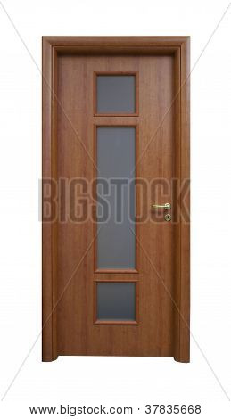 Door With A Glass