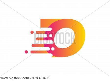 Abstract O Letter Speed Logo Design. Creative Unique Elegant Geometric, Minimal Fashion Brand O Lett