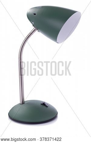 table lamp isolated at white  background