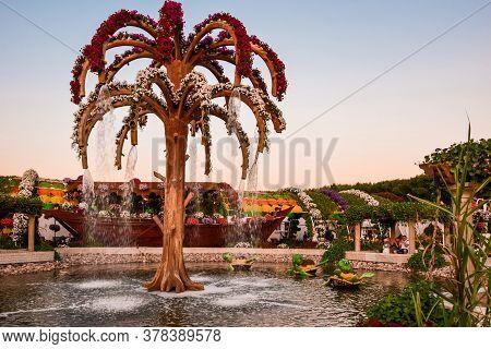 Flower Park. Miracle Garden. Dubailand Area, Barsha, Al Barsha South, 3. Dubai. Emirates. November 2